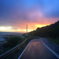 Steph Pakula entered this sunset photo taken on the Great Ocean Road.