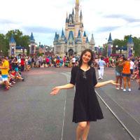 Tahnie Han at WaltDisney World in Orlando, Florida.