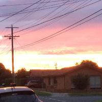 Tom Reisner entered this sunrise photo taken in Moorabbin, Victoria.
