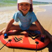 Yael Rothschild entered this holiday photo of Sienna Richardson, 2, enjoying the Frankston beach.