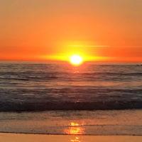 Ari Josefsberg entered this sunset photo taken at Santa Monica, California.