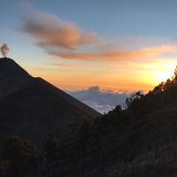 Ari Josefsberg entered this sunset photo taken at Acatenango volcano in Guatemala.