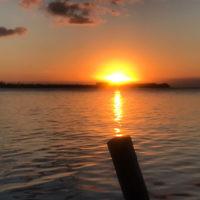 Ari Josefsberg entered this sunset photo taken at Caye Caulker, Belize,
