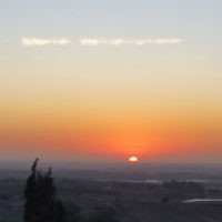 Daniel Gilad entered this photo taken from at sunset in Ein Gedi, Israel,