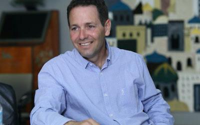 Mayor of Ramat Hanegev and JNF Australia Green Week headline speaker, Eran Doron.