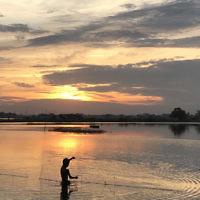 Evelyn Palmer entered this sunset photo taken in Myanmar.