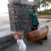 Jeff Leibovici entered this photo of his daughter Izzy in Fiji.