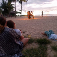 Jeff Leibovici  entered this holiday photo taken in Fiji.