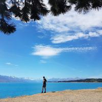 Avishai Brown at Lake Pukaki, New Zealand