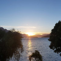 Michelle Kanevsky entered this sunset photo taken in Queenstown, New Zealand.