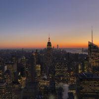 Racheli Shnider entered this photo of sunset in New York.