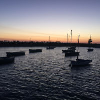 Rita Trakhtman entered this photo of sunset at St Kilda.