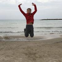 Tanya Kelly entered this photo of her son taken in Tel Aviv.