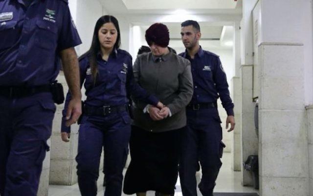 Malka Leifer appears in an Israeli court. Photo: AP