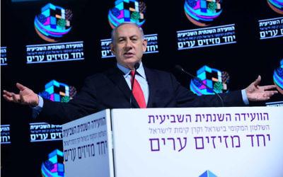 Benjamin Netanyahu. Photo: Tomer Neuberg/Flash90