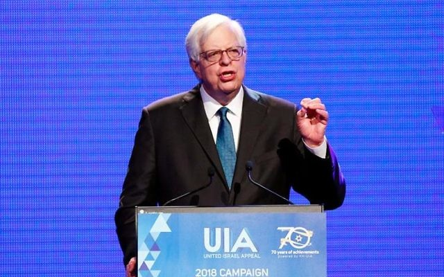 Dennis Prager at the UIA Victoria Gala Dinner. Photo: Peter Haskin.