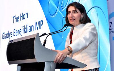 NSW Premier Gladys Berejiklian. Photo: Noel Kessel