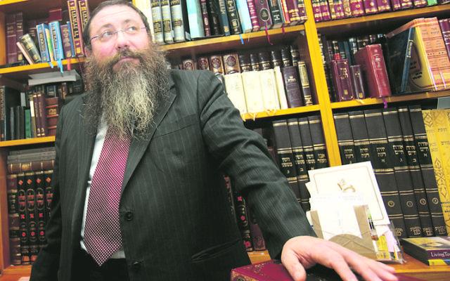 Rabbi Moshe Gutnick. Photo: Ingrid Shakenovsky
