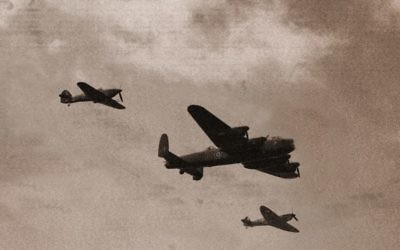 Lancaster Bombers. Image: Janzerd/Dreamstime.com