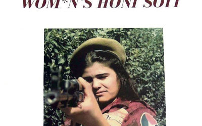 The Honi Soit cover featuring Hamida al-Taher.