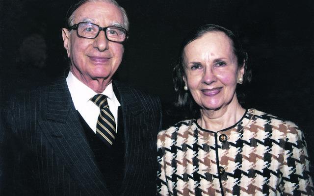 Isaac and Susan Wakil.