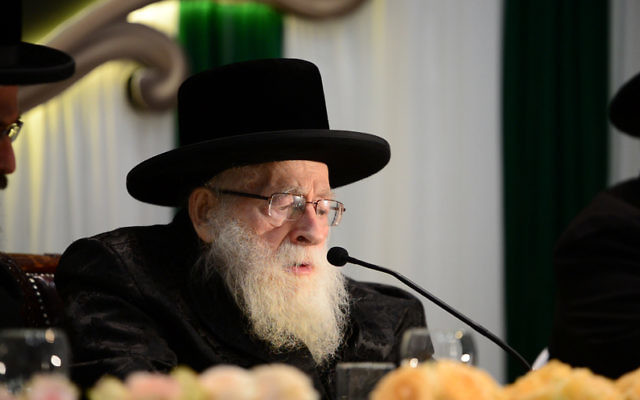 Rabbi Beck.