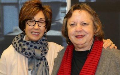 Victoria Nadel (left) and Sylvia Deutsch.