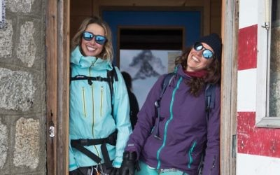 Anna (left) and Natalie Segal. Photo: Linus Meyer