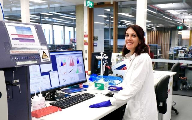 Dr Debbie Burnett, who conducts research into disorders of the immune system at the Garvan-Weizmann Centre for Cellular Genomics in Sydney.
