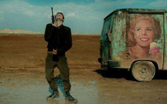 Yonatan Shiray stars as Israeli soldier Jonathan Feldmann in Foxtrot.