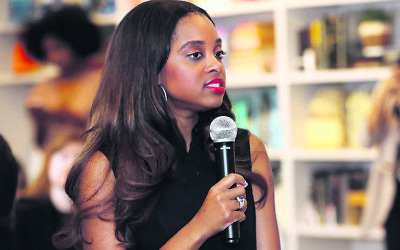Tamika Mallory. Photo: Robin Marchant/Getty Images for Hulu