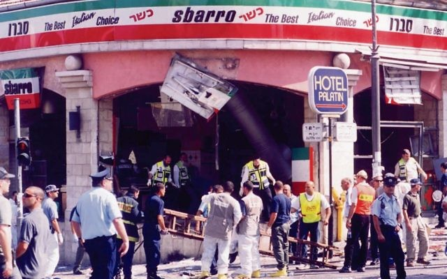 The terrorist who masterminded the Sbarro bombing lives feely in Jordan and enjoys celebrity status.