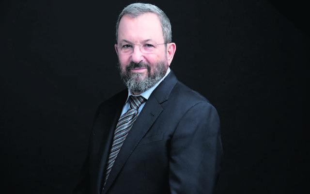 Ehud Barak for JNF.