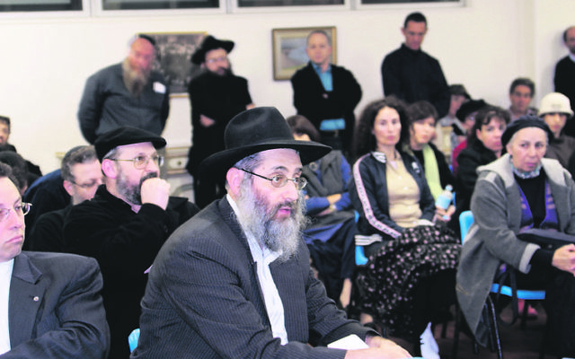 Rabbi Benzion Milecki.