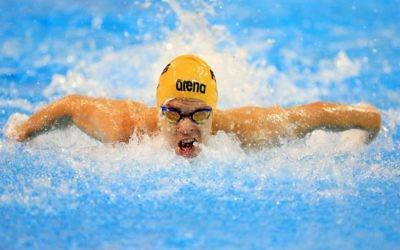 Matthew Levy. Photo: Swimming Australia