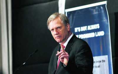 Andrew Bolt. Photo: Peter Haskin