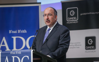 Dore Gold delivers the ADC Gandel Oration. Photo: Wayne Taylor