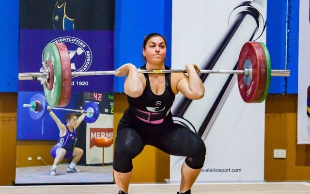 Going from strength to strength: Leora yates. Photo: Black Rose Photography