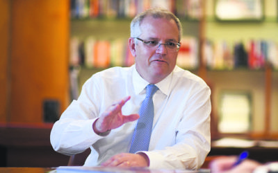Prime Minister Scott Morrison. Photo: AAP Image/Lukas Coch