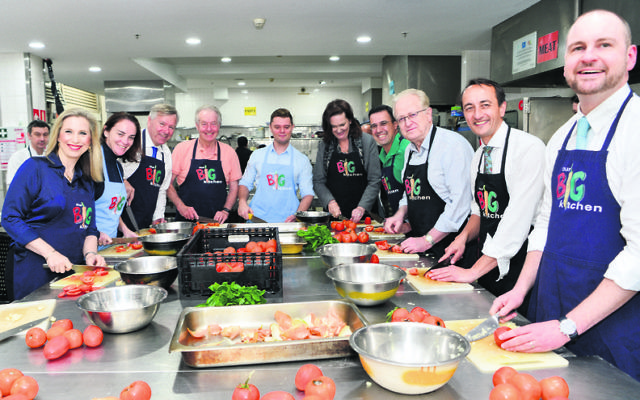 Wentworth preselection candidates at Our Big Kitchen. Photo: Henry Benjamin