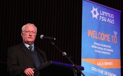 Limmud FSU founder and chairman Chaim Chesler. Photo: Shane Desiatnik