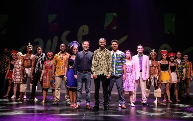 The cast of Madiba the Musical.