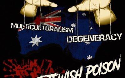 An Antipodean Resistance poster.