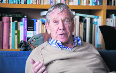 Amos Oz. Photo: Omer Messinger/PA
