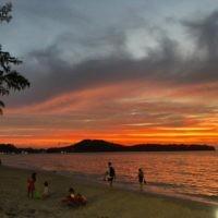 Cynthia Pollak entered this sunset photo taken in Phuket.