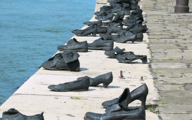 The Shoes on the Danube memorial. Photo: Julie Szego/AJN file