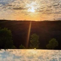 David Golshevsky entered this sunrise photo taken at Lake Argyle in the Kimberleys.