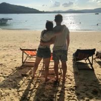 Debbie Rutstein entered this photo of Brendon and Lara Rutstein at Rang Yai beach in Thailand.