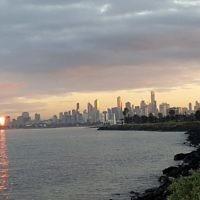 Peter Shonberg entered this sunset photo taken at St Kilda.
