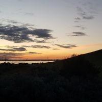 Diane Shonberg entered this sunset photo taken at Point Ormond, Victoria.